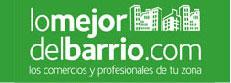 logotipo lo mejor del barrio
