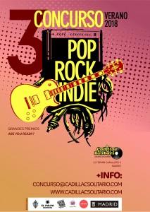 III Concurso Pop Rock Indie - Cadillac Solitario